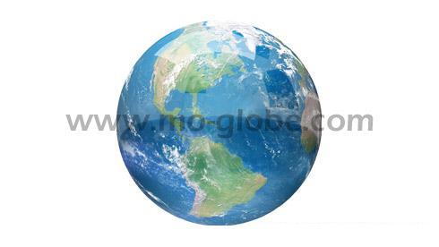 A giant geo globe up to 2 m diameter